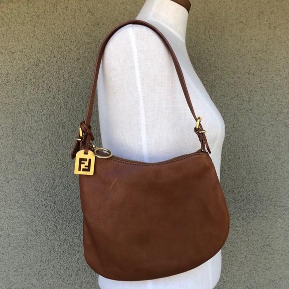 Fendi saddle shoulder bag
